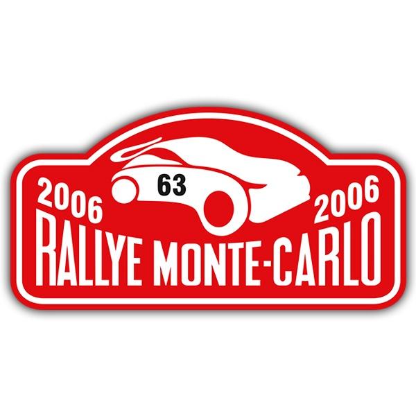 Pegatinas: Rallye Monte-Carlo II