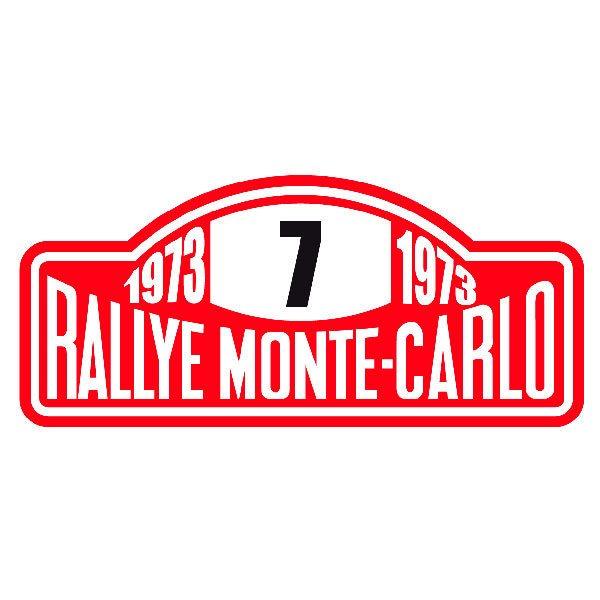 Pegatinas: Rallye Monte-Carlo