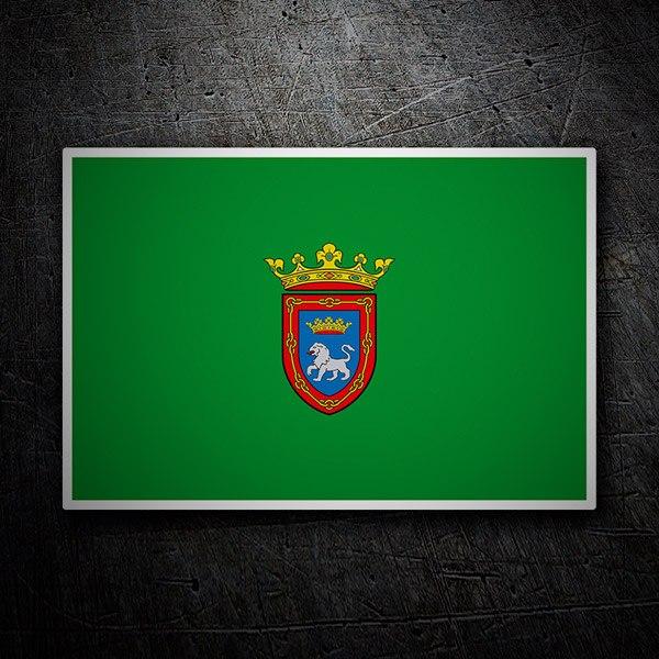 Pegatinas: Bandera de Pamplona