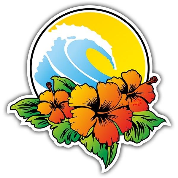 Vinilos Decorativos: surf beach