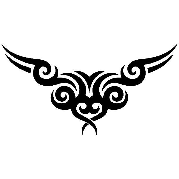 Pegatinas: Tribal capó 23
