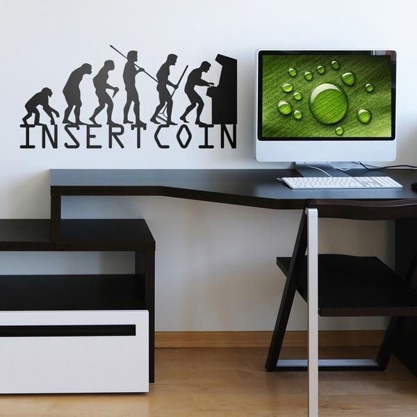 Vinilos Decorativos: Evolucion InsertCoin