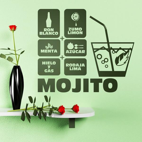 Vinilos Decorativos: Cocktail Mojito