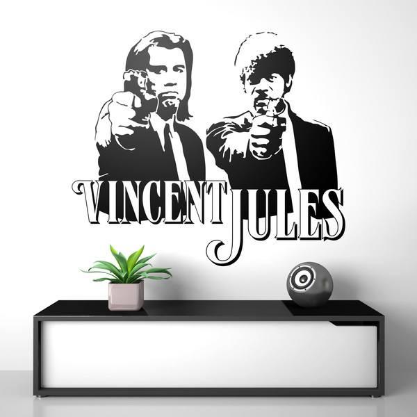 Vinilos Decorativos: Vincent y Jules