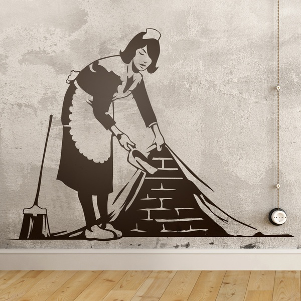 Vinilos Decorativos: La chica de la limpieza