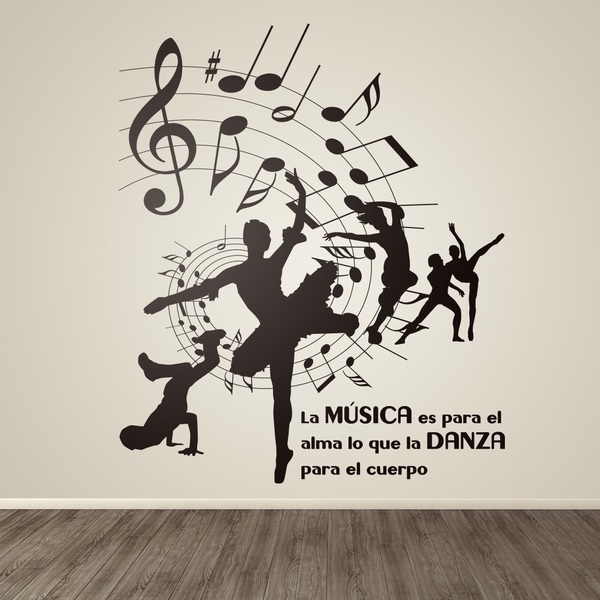 Vinilos Decorativos: Dance