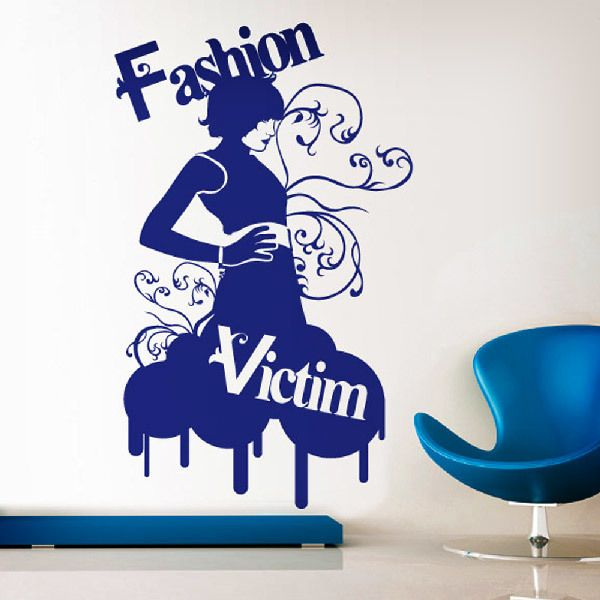 Vinilos Decorativos: Fashion Victim