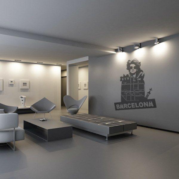 Vinilos Decorativos: Barcelona
