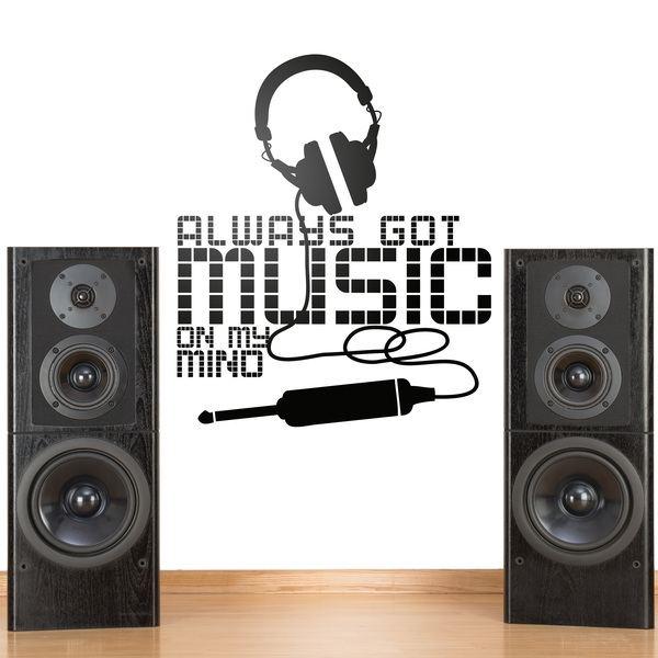 Vinilos Decorativos: Always got music on my mind