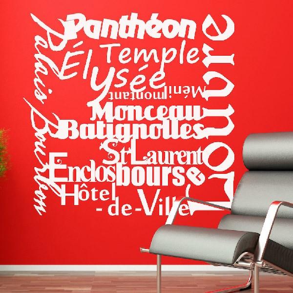 Vinilos Decorativos: Paris Mon Amour