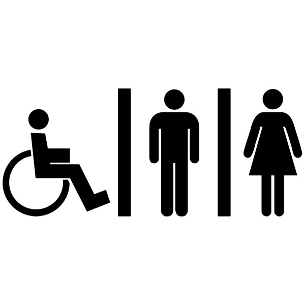 Vinilos para el wc - Papel de vinilo para banos ...