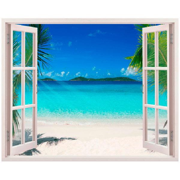 Vinilos Decorativos: Playa en el Caribe
