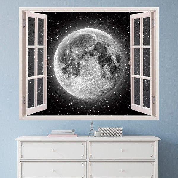 Vinilos Decorativos: Luna llena