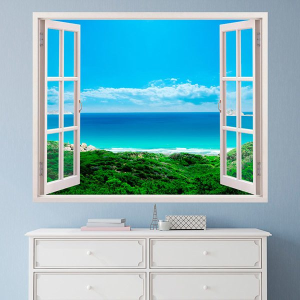 Vinilos Decorativos: Vistas al mar