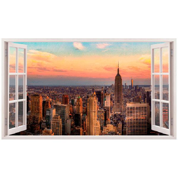 Vinilos Decorativos: Panorámica de Nueva York