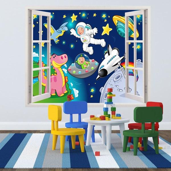 Vinilos Infantiles: Espacio