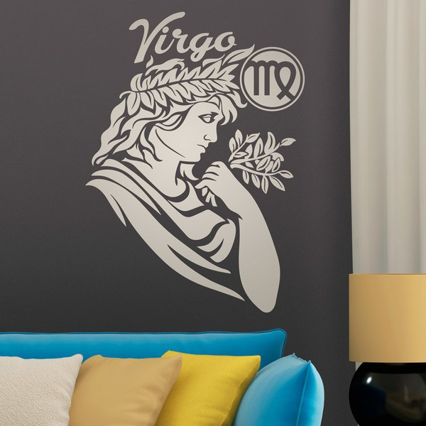 Vinilos Decorativos: Virgo