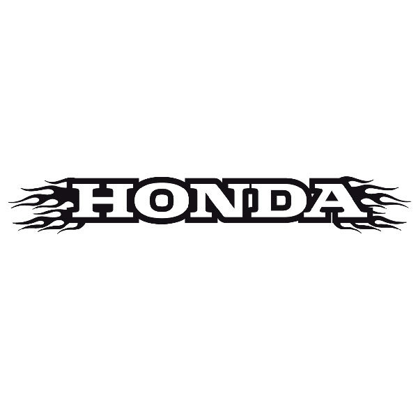 Pegatinas: Parasol Honda