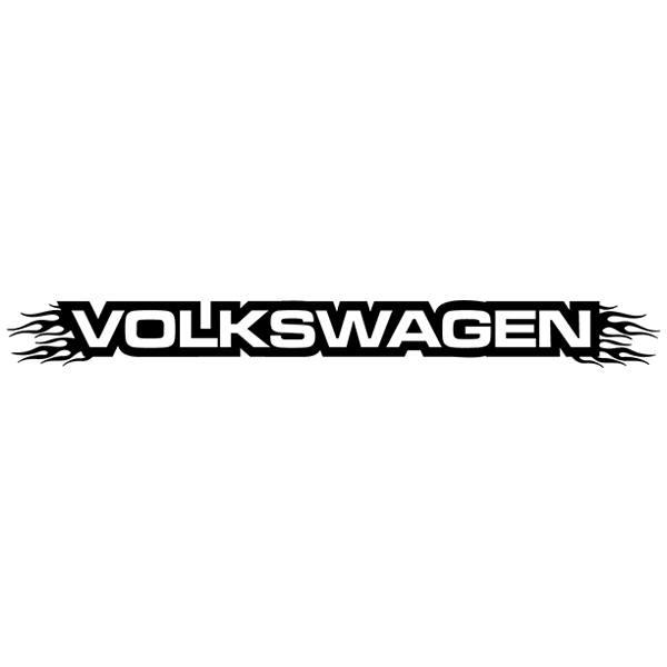 Pegatinas: Parasol Volkswagen