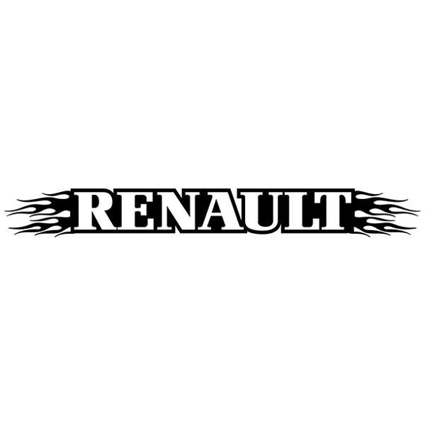 Pegatinas: Parasol Renault