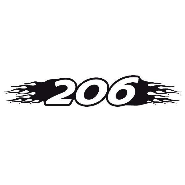 Pegatinas: Parasol 206