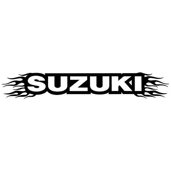 Pegatinas: Parasol Suzuki