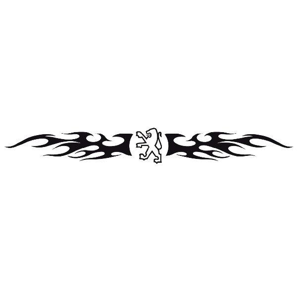 Pegatinas: Parasol Peugeot