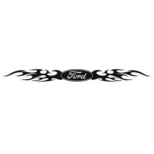 Pegatinas: Parasol Ford Logo