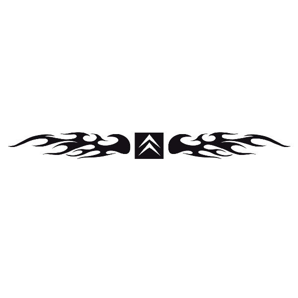 Pegatinas: Parasol Citroen Logo