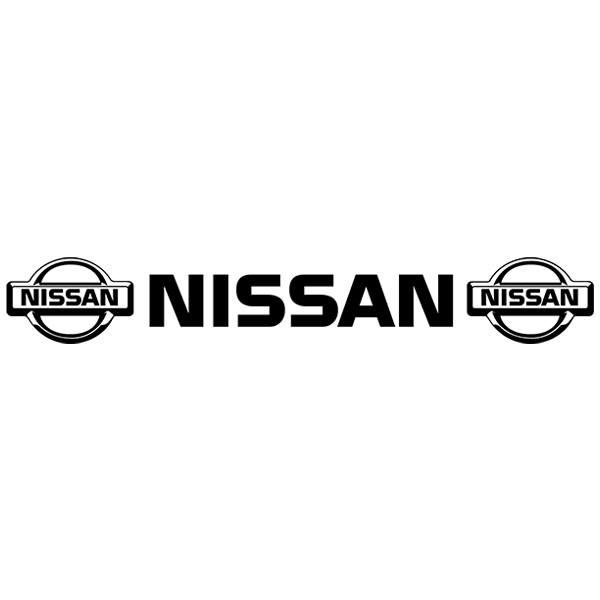 Pegatinas: Parasol Logo Nissan