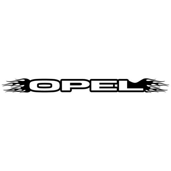 Pegatinas: Parasol Opel