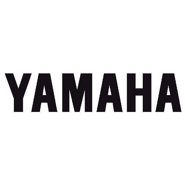 Pegatinas: Yamaha