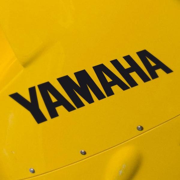 Pegatinas: Yamaha II
