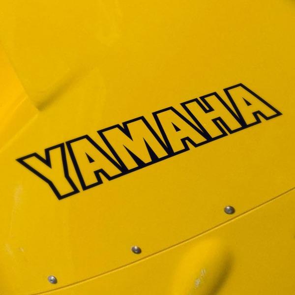 Pegatinas: Yamaha V