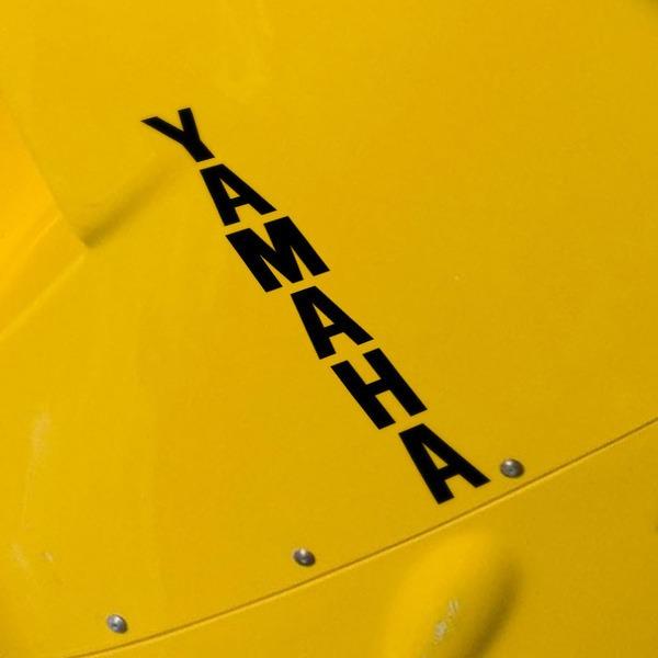 Pegatinas: Yamaha vertical