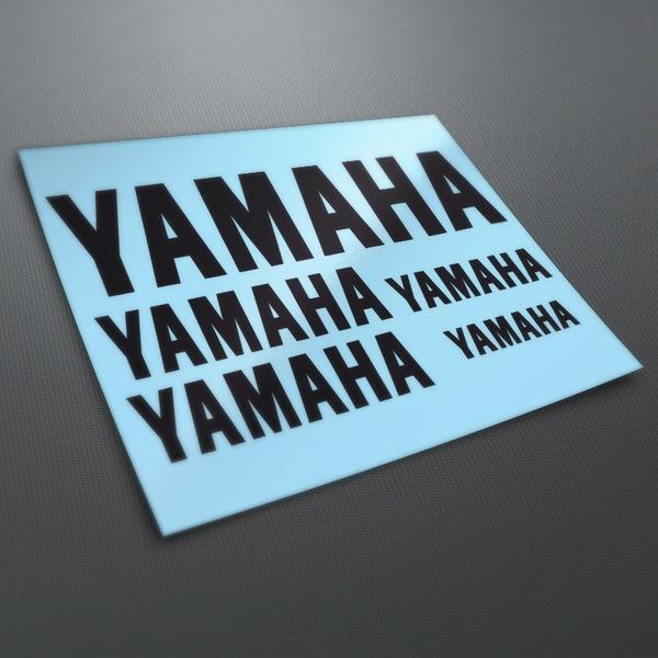 Pegatinas: Kit Yamaha 1