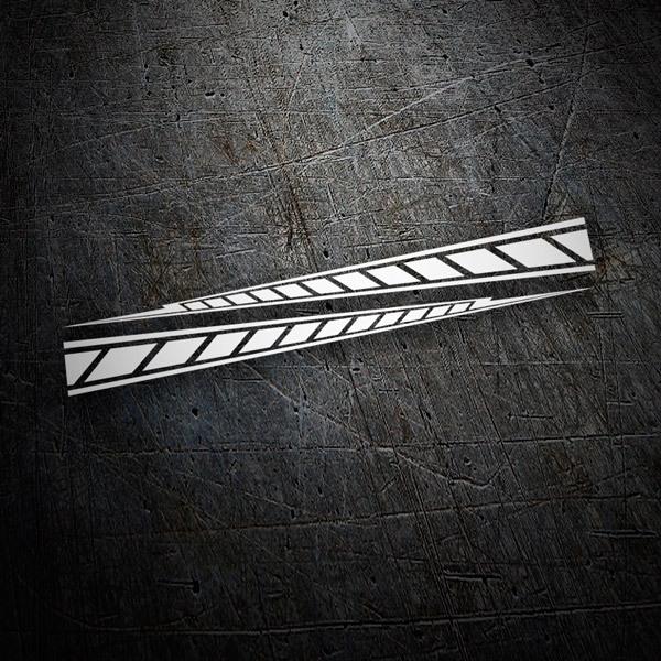 Pegatinas: Yamaha M1 stripes