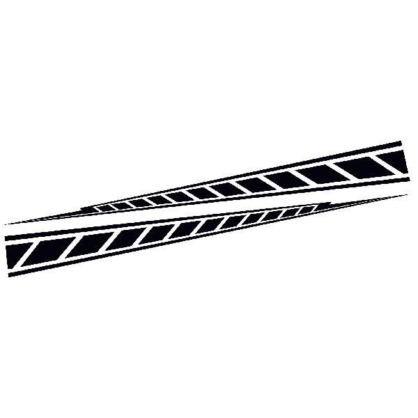 Pegatinas Yamaha M1 Stripes Teleadhesivo Com