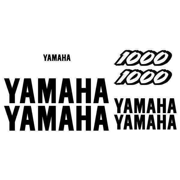 Pegatinas: YZF 1000 1997