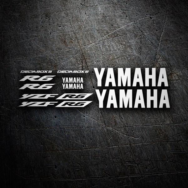 Pegatinas: YZF R6 2003 II