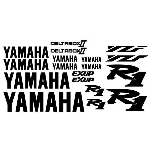 Pegatinas: YZF R1 2001