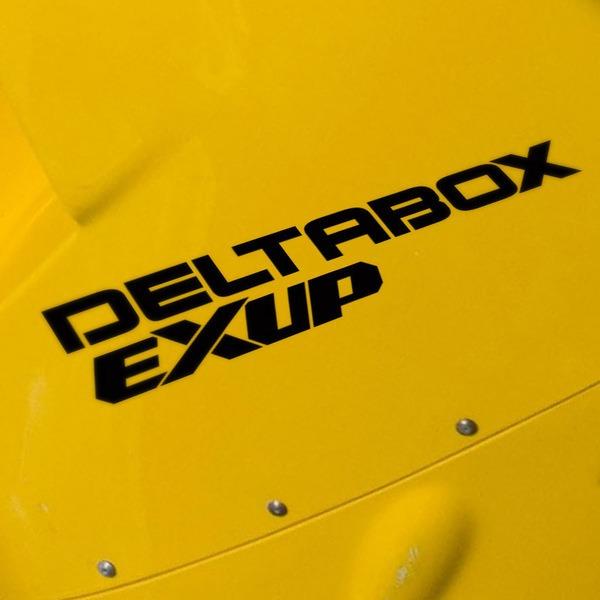 Pegatinas: Deltabox Exup