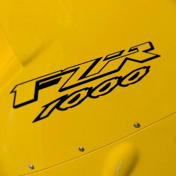 Pegatinas: FZR 1000