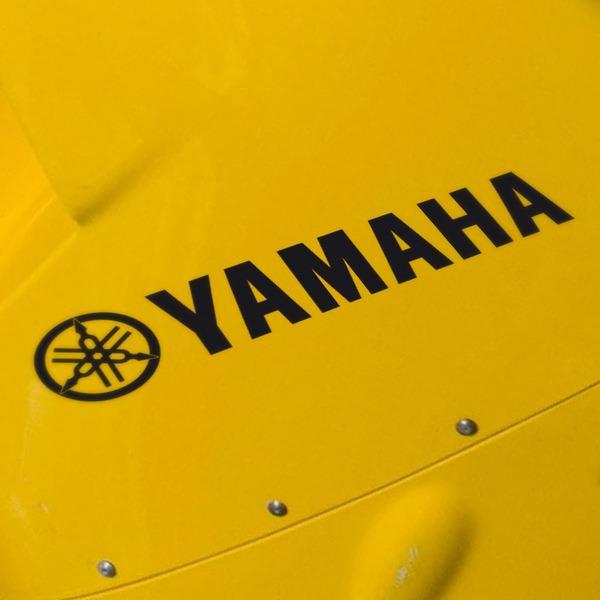Pegatinas: Yamaha III