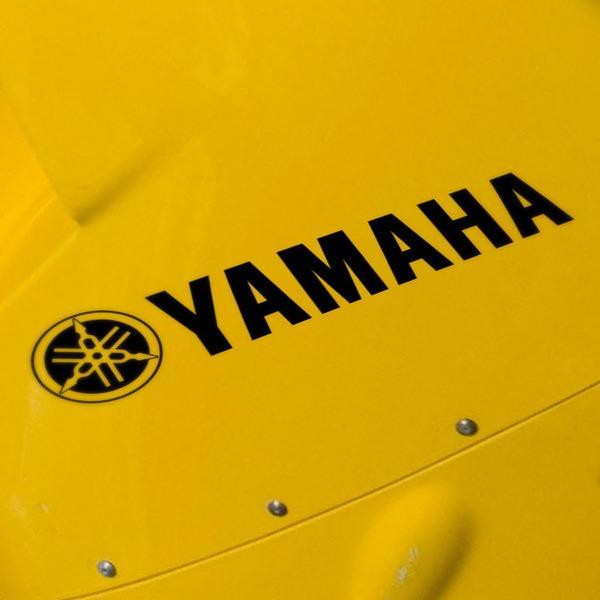Pegatinas: Logo + Yamaha