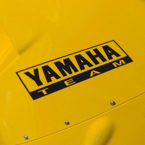 Pegatinas: Yamaha Team