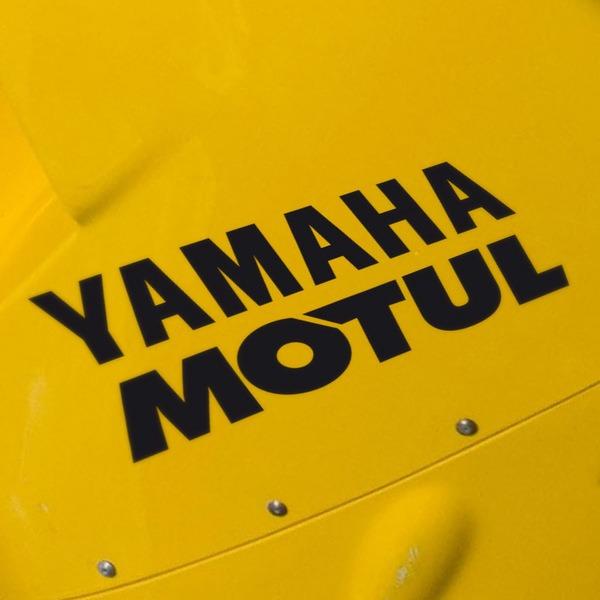 Pegatinas: Yamaha Motul