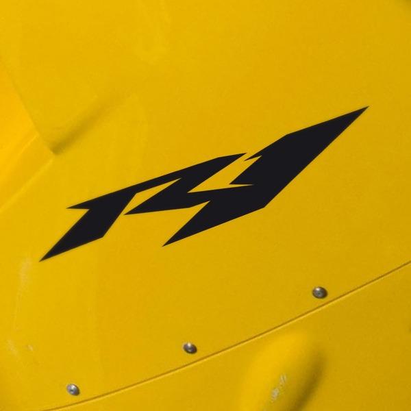 Pegatinas: Yamaha Racing R1