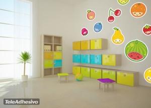 Simpáticas frutitas animadas