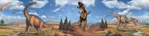 Cenefa de dinosaurios